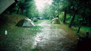 2 Stunden Regen im Zelt Einschlaf sounds | 2 Hour of Rain on a Tent Sleeping Sounds