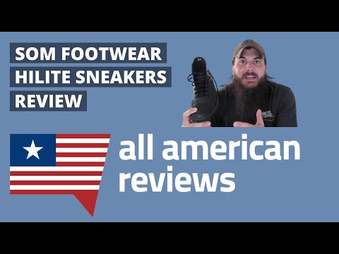 SOM Footwear HiLite Sneakers Review: Best High-Tops Made in the USA?? - All American Reviews