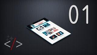 Создание сайта на HTML5 и CSS3. Урок 1(Заработай на своем YouTube канале *** http://master-css.com/go/21 ВНИМАНИЕ! На канале только первые 10 уроков. Остальные..., 2014-07-30T00:27:04.000Z)