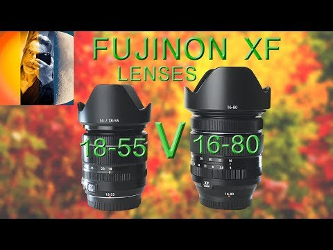 Fuji 18 55mm V 16 80mm Lens Sharpness Tests