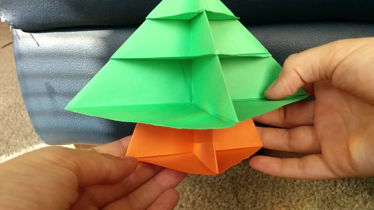 Origami christmas tree modular origami not a tutorial youtube origami christmas tree modular origami not a tutorial jeuxipadfo Image collections