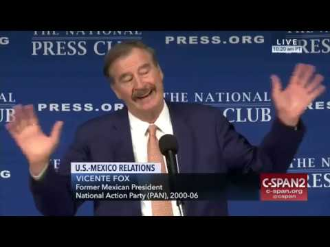 Vicente Fox on U.S.-Mexico Relations