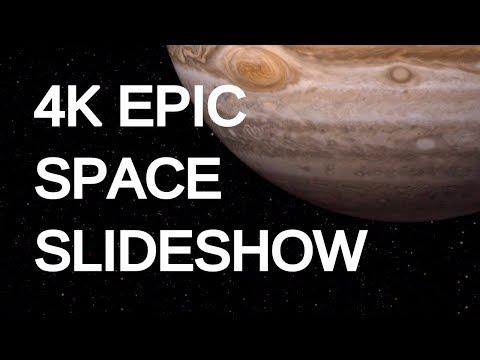 4K EPIC SPACE SLIDESHOW | SILENT SCENERY