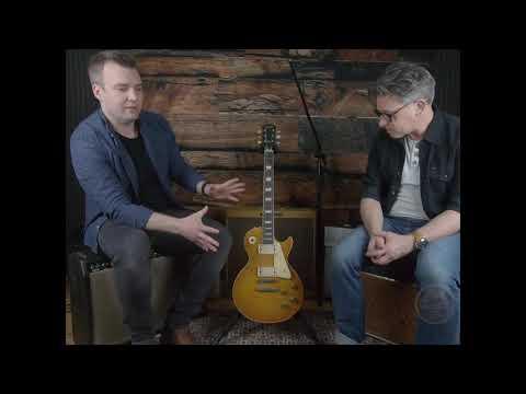 1959 Gibson Les Paul Standard - Tone Twins TV Tests The Richrath Burst