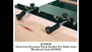 Woodcraft Adds New Jessem Table Saw Safety Accessory To Product Line