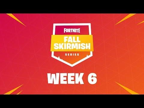 Fall Skirmish Week 6 Club Standings