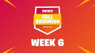 Fall Skirmish Week 6 Club Standings