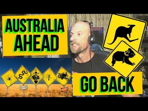 10 Reasons Not To Visit AUSTRALIA - REACTION