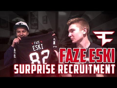 SURPRISE FaZe Recruitment! w/ FaZe Swan x Markoh
