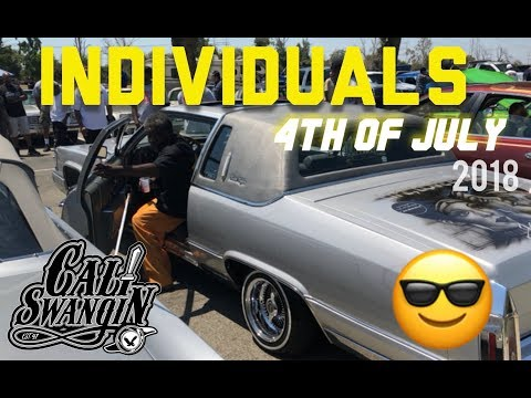Cali Swangin: Individuals cc 4th of July Lowrider picnic 2018