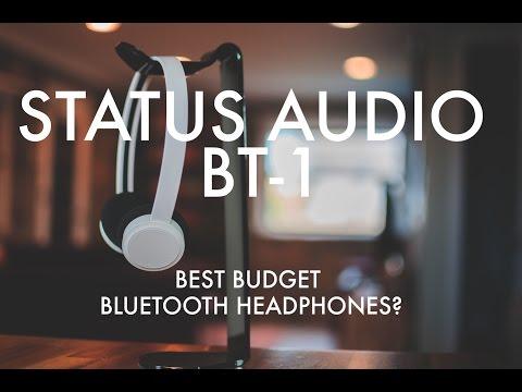 REVIEW + GIVEAWAY (closed)! STATUS AUDIO BT-1 | Best Bluetooth Headphones -