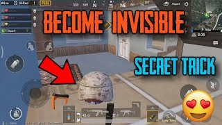 How To Become INVISIBLE In PUBG Mobile | PUBG Mobile TIPS TRICKS | New Secret Trick in pubg mobile