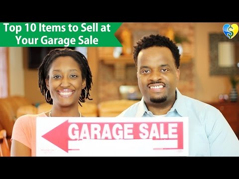 Top 10 Items to Sell at Your Garage Sale
