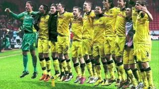 Borussia Dortmund - Mannschaftsaufstellung gegen Eintracht Frankfurt 2011