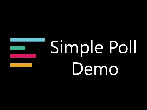 Simple Poll Demo