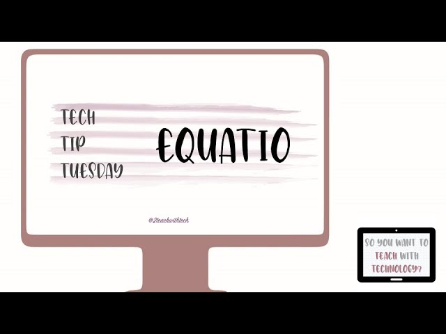 EquatIO Google Extension