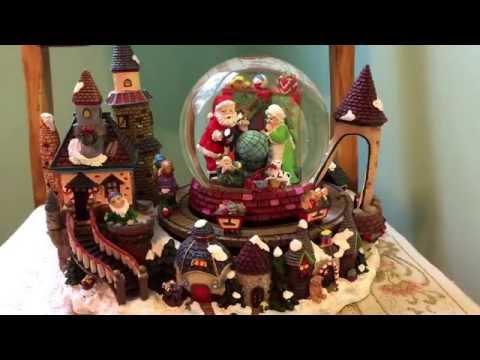 Christmas Train Musical Snow Globe