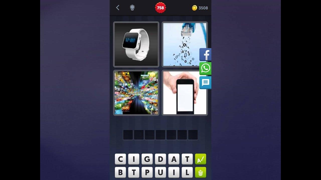 4 Bilder 1 Wort Handy
