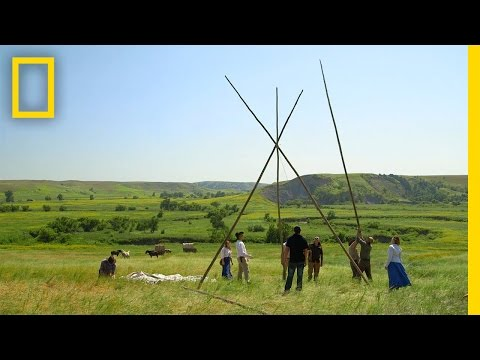 How To Build A Teepee | The Pioneers