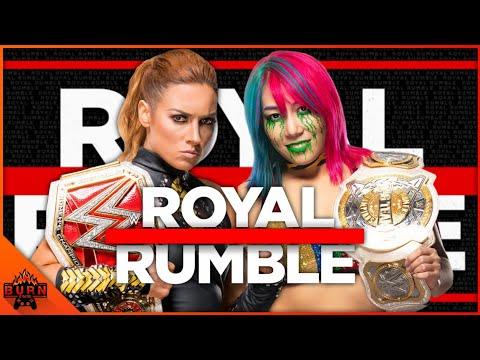 WWE 2K20 BECKY LYNCH VS ASUKA - ROYAL RUMBLE