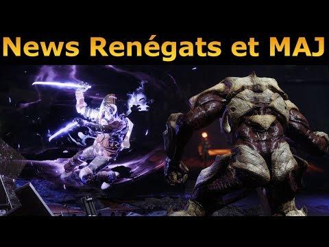 Destiny 2 : News Renégats et MAJ Juillet ! Détails 9 nouvelles doctrines, Armes protocole... thumbnail