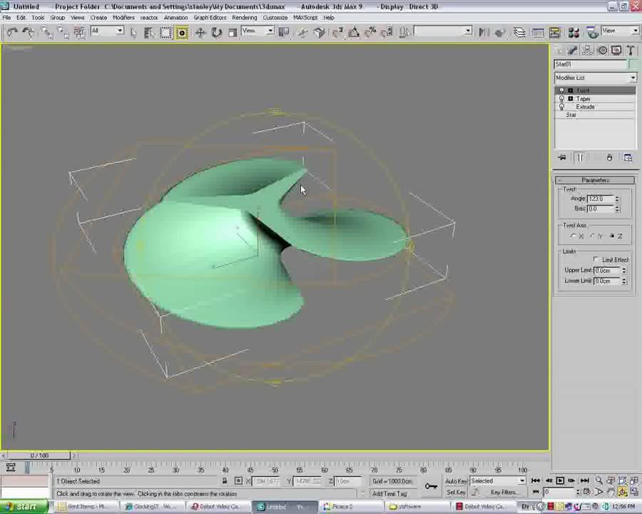 3d propeller modeling - YouTube