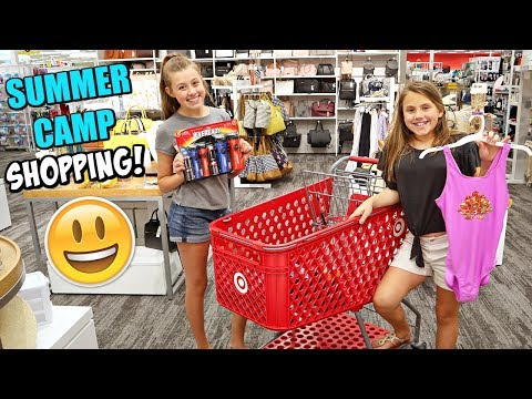 Shopping For Teen SUMMER Camp!