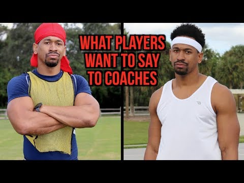 Thumbnail: What Players Say To Coaches vs What They Want To Say