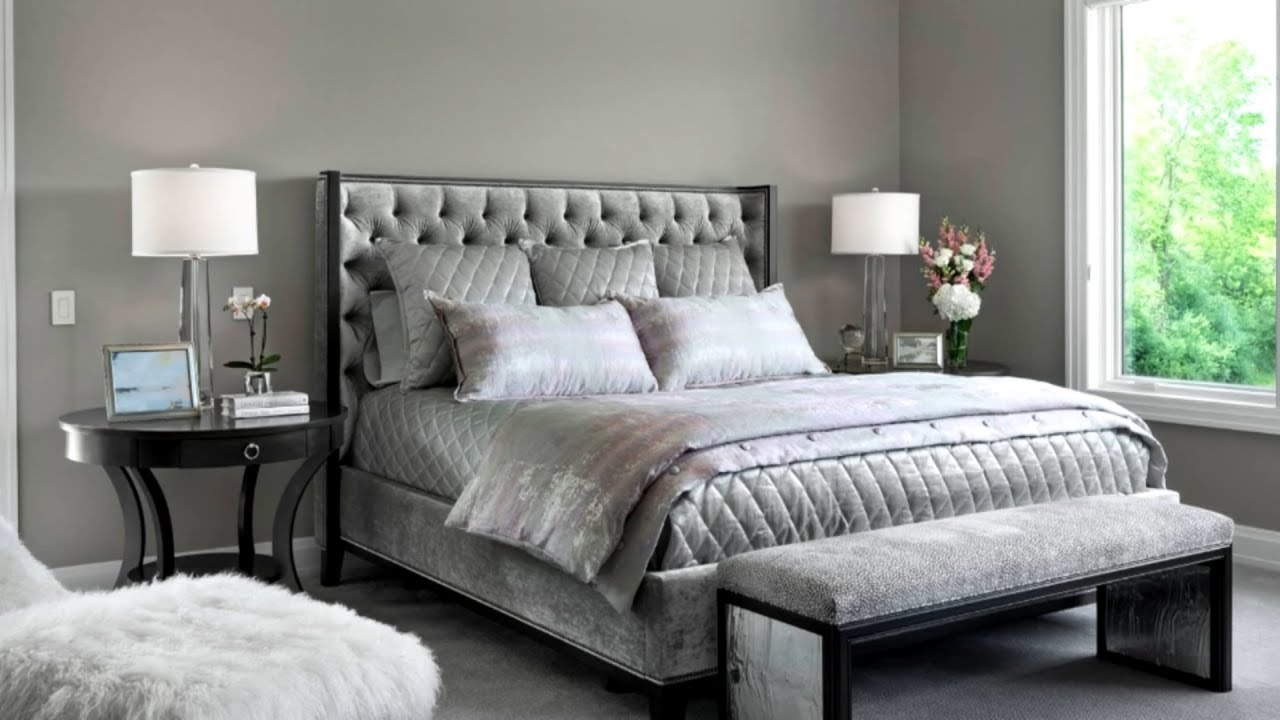 112 Grey Bedroom Ideas #12