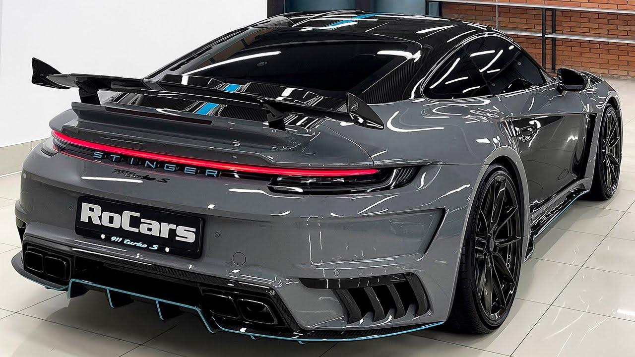 بورش 911 توربو إس ستينجر جي تي آر Porsche 911 Turbo S Stinger GTR
