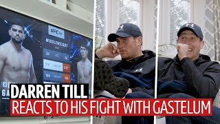 Darren Till watches his fight with Kelvin Gastelum in full for the first time | UFC 244