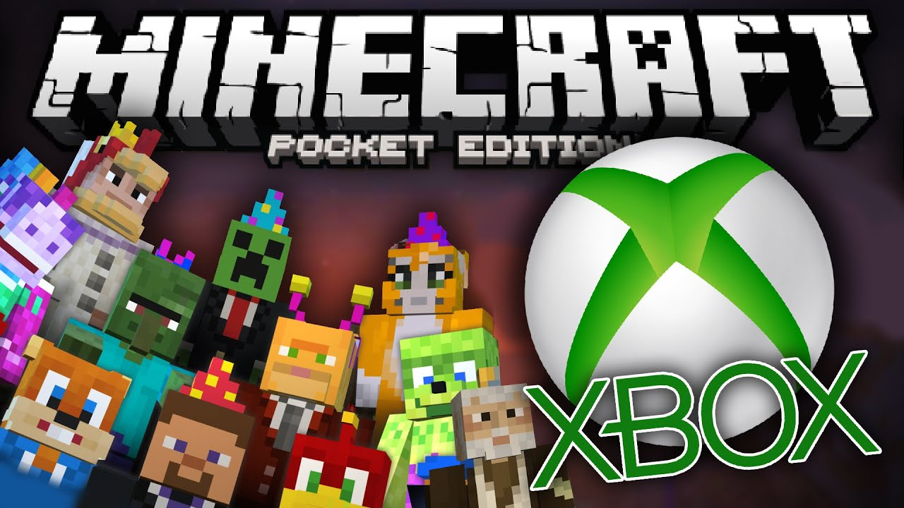 XBOX SKIN PACKS for MCPE!!! - Awesome Skin Packs Mod ...