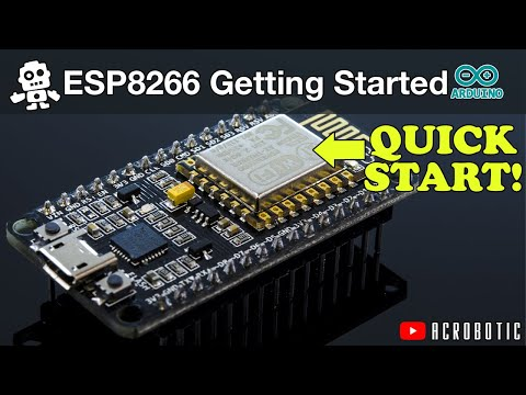 ESP8266 Programming Using Arduino IDE (Mac and Windows)