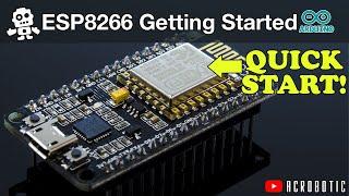 ESP8266 Programming Using Arduino IDE (Mac and Windows)