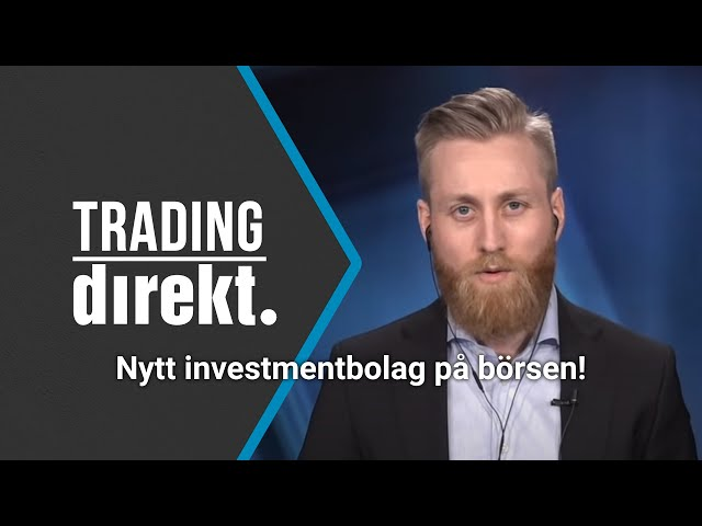 Trading Direkt 2021-05-07   Nytt investmentbolag på börsen!   Teknisk analys: Räkna ut pivotpunkter?