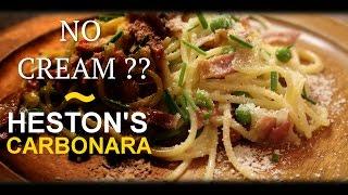 Heston's Carbonara: Heston Blumenthal Cookbook