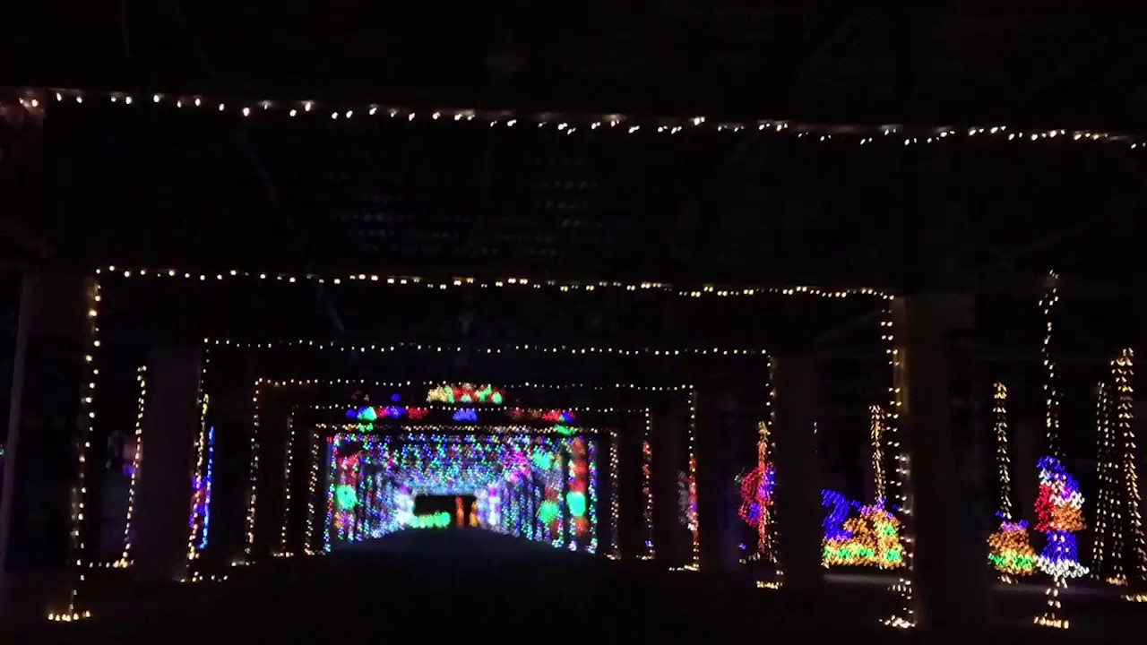 glittering lights at las vegas motor speedway