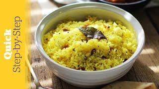 Lemon Rice Recipe - Quick Step-by-step | Hari Ghotra