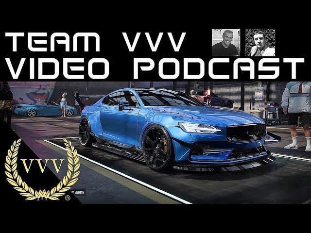 Team VVV Video Podcast 59, PlayStation 5, NFS Heat, WRC Esports, GRID, GT Sport,