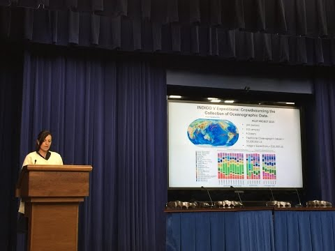 Citizen oceanography goes to The White House