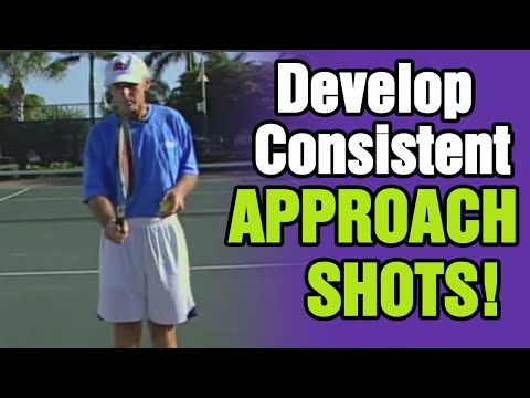 Tennis - How to Develop Consistent Approach Shots | Tom Avery Tennis 239.592.5920