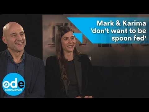 DEEP STATE: Mark Strong & Karima McAdams 'don't want to be spoon fed'