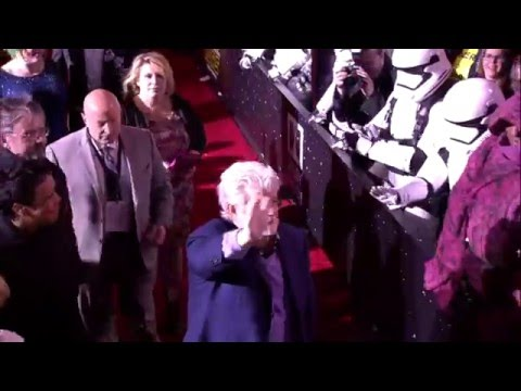 Star Wars - The Force Awakens: Red Carpet Arrivals Part 2