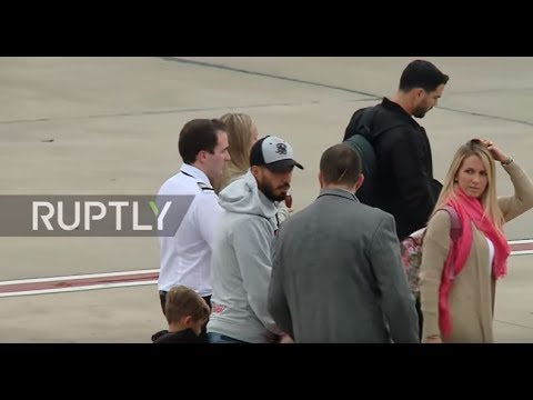 Argentina: Security high as Suarez, Eto'o et al arrive in Rosario for Messi's wedding