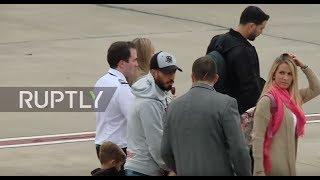 Argentina: Security high as Suarez, Eto'o et al arrive in Rosario for Messi's wedding