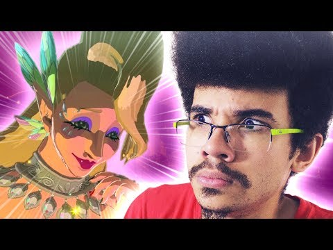 OLHA O TAMANHO DESSA MULHER!!! | Zelda: Breath of the Wild - Rik