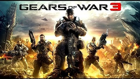gears of war 3 all cutscenes game movie hd