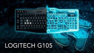 Качественная и недорогая Игровая клавиатура Logitech G105. Обзор
