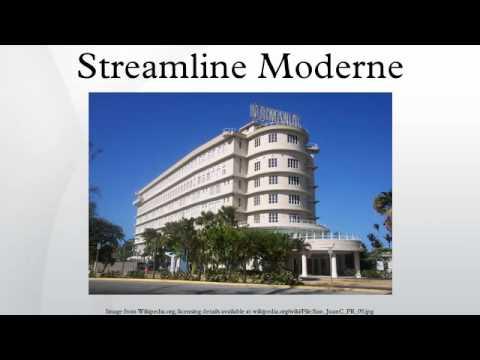 Streamline Moderne - Youtube
