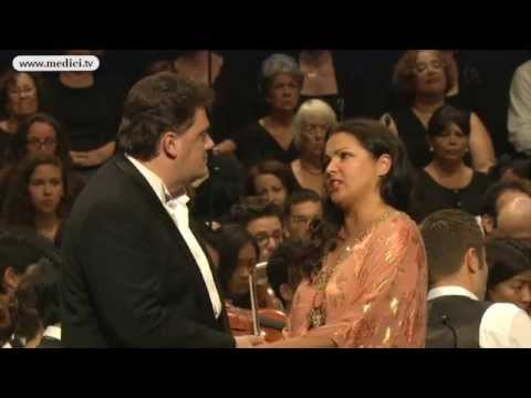 Anna Netrebko and Aleksandrs Antonenko - Verdi Otello Act I - Verbier Festival 2013